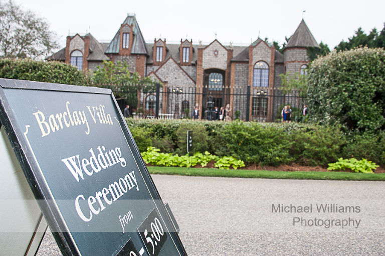 barclay villa wedding photography